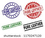 pure leather seal prints with... | Shutterstock .eps vector #1170247120