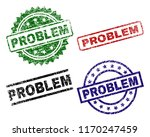 problem seal prints with... | Shutterstock .eps vector #1170247459