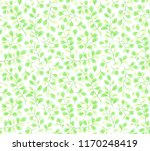 green leaves branches vector... | Shutterstock .eps vector #1170248419
