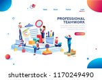 work at office  official... | Shutterstock .eps vector #1170249490