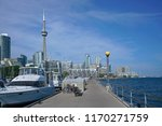 toronto waterfront with... | Shutterstock . vector #1170271759