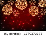 christmas background with... | Shutterstock .eps vector #1170273376