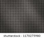 stainless steel grid metal... | Shutterstock . vector #1170275980