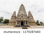 bodh gaya  mahabodhi temple... | Shutterstock . vector #1170287683