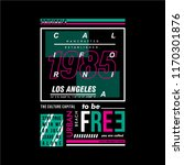 california typography graphic... | Shutterstock .eps vector #1170301876