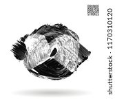 grey brush stroke and texture.... | Shutterstock .eps vector #1170310120