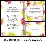 vintage delicate greeting...   Shutterstock . vector #1170312190