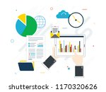 flat design vector illustration ... | Shutterstock .eps vector #1170320626