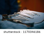 surgical instruments and tools...   Shutterstock . vector #1170346186