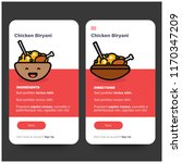 chicken biryani recipe app ux...