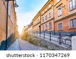 street of the old town  gamla...   Shutterstock . vector #1170347269