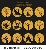 halloween holiday info graphic... | Shutterstock .eps vector #1170349960