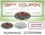vector template. advertisements ... | Shutterstock .eps vector #1170350986