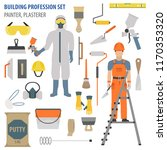profession and occupation set.... | Shutterstock .eps vector #1170353320