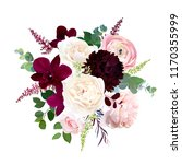 luxury fall flowers vector... | Shutterstock .eps vector #1170355999