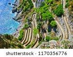 overlooking the beautiful... | Shutterstock . vector #1170356776