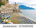 atrani  italy   september 18 ... | Shutterstock . vector #1170359530