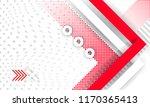 hipster modern geometric... | Shutterstock .eps vector #1170365413