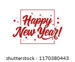 happy new year  vector holiday... | Shutterstock .eps vector #1170380443