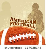 Vector American Football With...