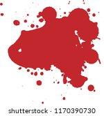 halloween horror blood splash | Shutterstock .eps vector #1170390730