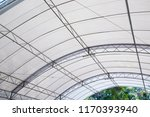 roof dome construction  canvas... | Shutterstock . vector #1170393940