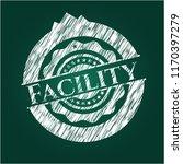 facility chalk emblem | Shutterstock .eps vector #1170397279