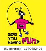 vector cartoon character    Shutterstock .eps vector #1170402406