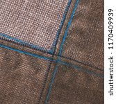 brown denim background seams.... | Shutterstock . vector #1170409939