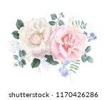 vector vintage floral... | Shutterstock .eps vector #1170426286
