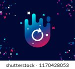 refresh simple icon. rotation... | Shutterstock .eps vector #1170428053