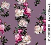 seamless floral pattern.... | Shutterstock . vector #1170436126