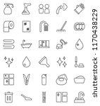 thin line vector icon set  ...   Shutterstock .eps vector #1170438229