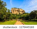 sri lanka sigiriya lion rock...   Shutterstock . vector #1170445183
