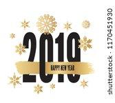 2019 happy new year backgrounds ... | Shutterstock .eps vector #1170451930
