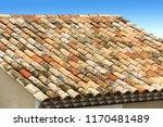 roof in mediterranean tiles | Shutterstock . vector #1170481489