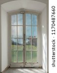 french door with a nature view... | Shutterstock . vector #1170487660