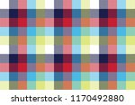 colored check pixel tablecloth... | Shutterstock .eps vector #1170492880