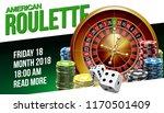 illustration online poker... | Shutterstock .eps vector #1170501409