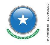 somalia flag button. somalia... | Shutterstock .eps vector #1170505330