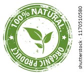 100  natural organic product... | Shutterstock .eps vector #1170510580