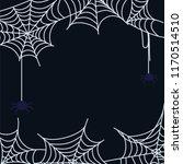 cartoon cobweb set | Shutterstock .eps vector #1170514510