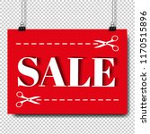 sale banner and text...   Shutterstock .eps vector #1170515896