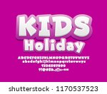 vector bright font with text... | Shutterstock .eps vector #1170537523