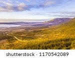 beautiful hills and mountains... | Shutterstock . vector #1170542089