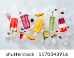 collection of colorful tasty... | Shutterstock . vector #1170543916