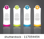 advertising label set with...   Shutterstock .eps vector #117054454