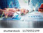 economy concept  business man... | Shutterstock . vector #1170552199