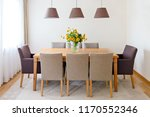 table with comfortable chairs | Shutterstock . vector #1170552346