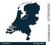 netherlands   europe countries... | Shutterstock .eps vector #1170553420